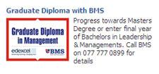 Graduate Diploma with BMS BMS