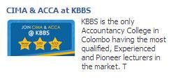 CIMA & ACCA at KBBS KBBS