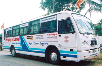 HelpAge Sri Lanka - Mobile Medical Service Bus