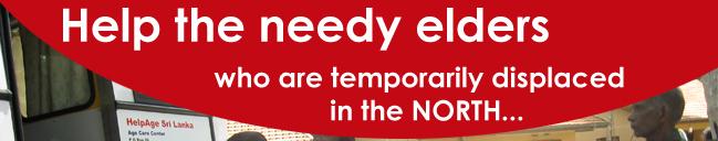 Help the needy elders